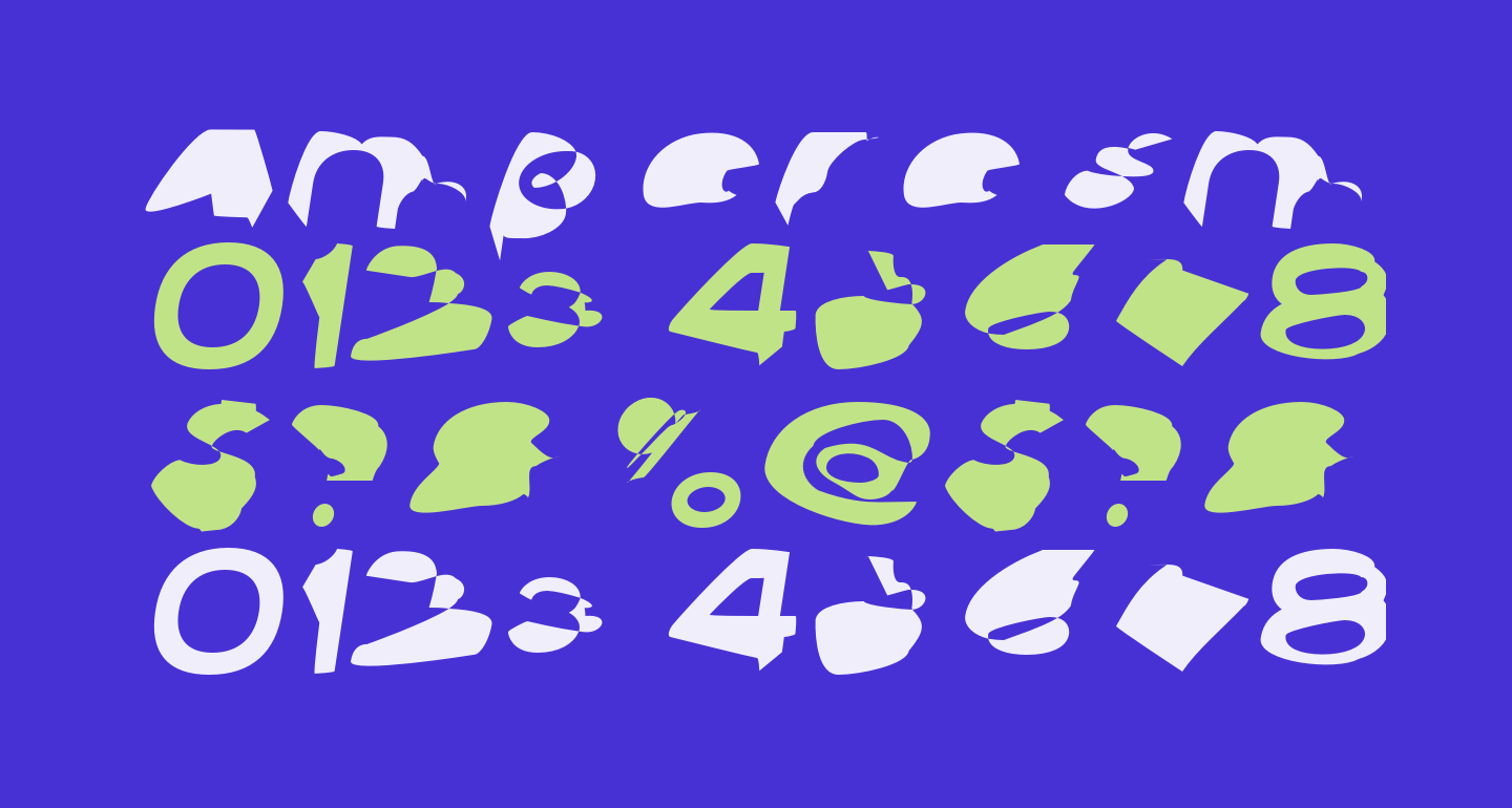 Ampere SmallCaps SuperExtended Italic