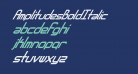 AmplitudesBoldItalic