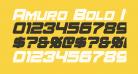 Amuro Bold Italic