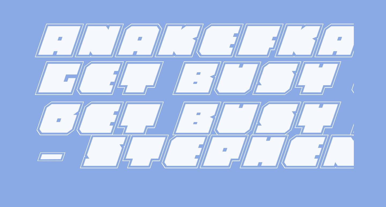 Anakefka Academy Italic