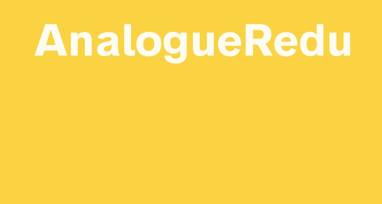 AnalogueReduced-Bold