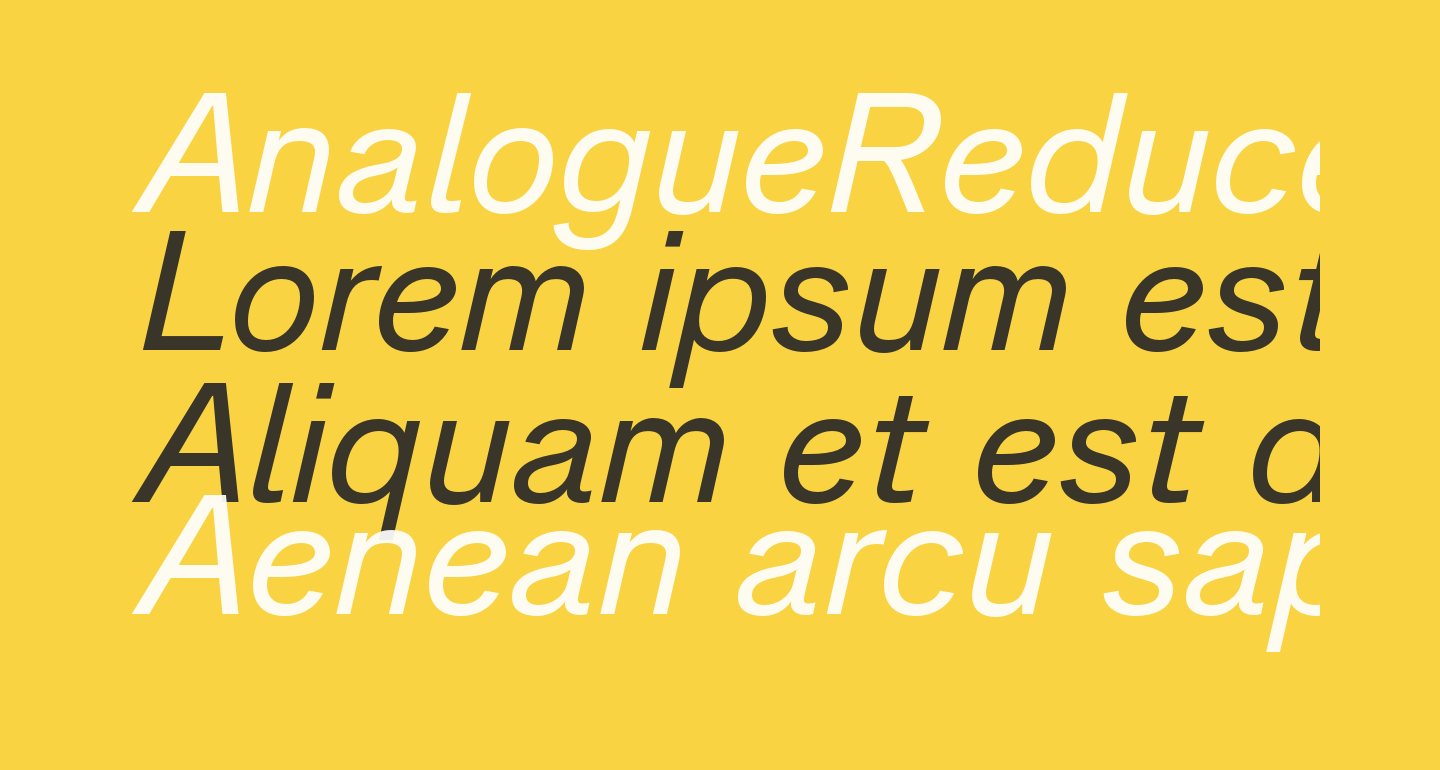 AnalogueReduced-Oblique