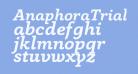 AnaphoraTrial-BoldItalic