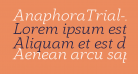 AnaphoraTrial-LightItalic