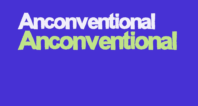 Anconventional