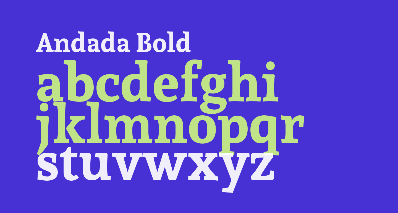 Andada Bold