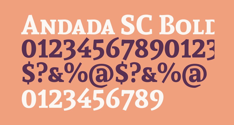 Andada SC Bold