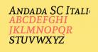 Andada SC Italic