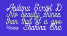 Andara Script Demo