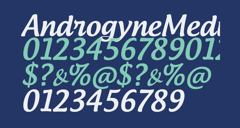 AndrogyneMedium