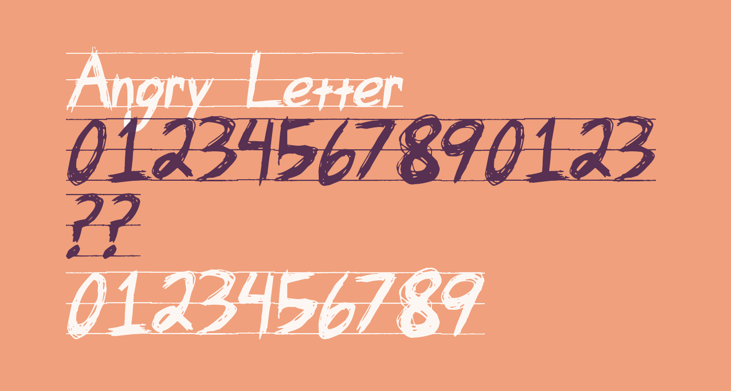 Angry Letter