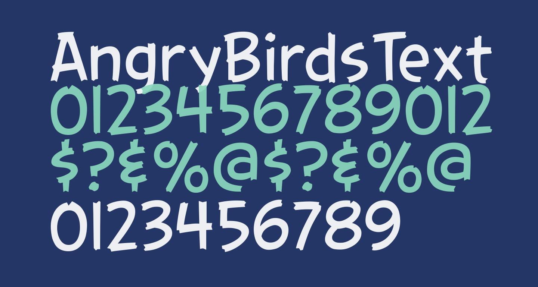 AngryBirdsText Regular