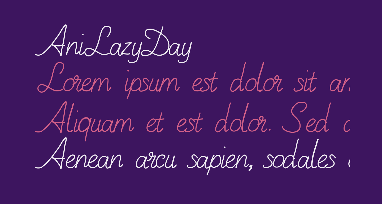 AniLazyDay