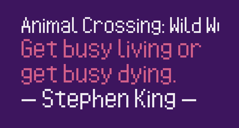 Animal Crossing: Wild World Regular
