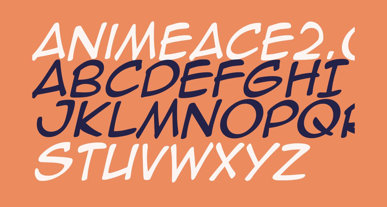 AnimeAce2.0BB-Italic