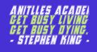 Anitlles Academy Italic