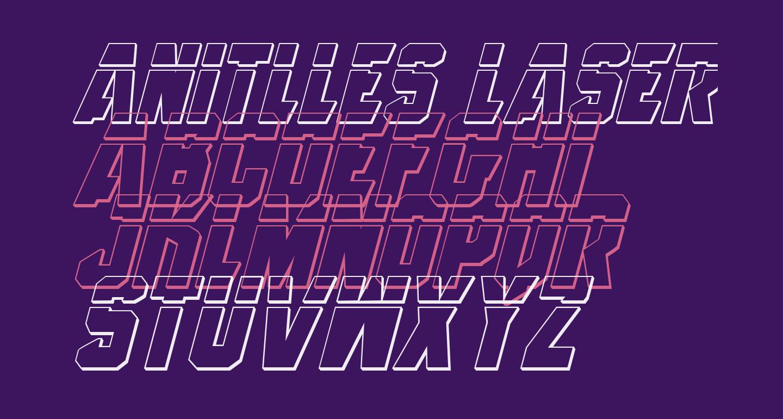 Anitlles Laser 3D Italic