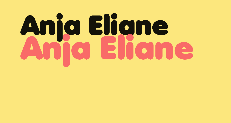 Anja Eliane