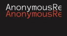 AnonymousRegular