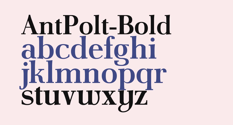 AntPolt-Bold