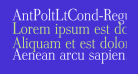 AntPoltLtCond-Regular