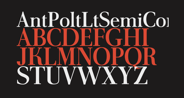 AntPoltLtSemiCond-Bold