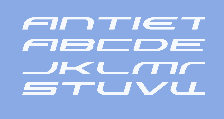 Antietam Expanded Italic