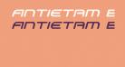 Antietam Extra-Condensed Italic