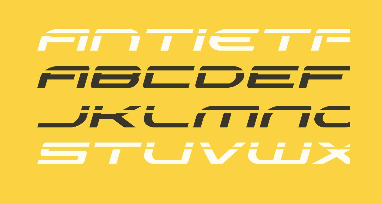Antietam Laser Italic