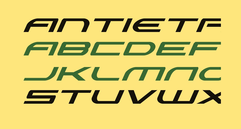 Antietam Super-Italic