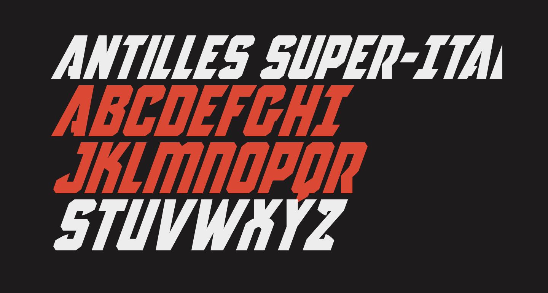 Antilles Super-Italic