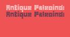 Antique Paleoindonesia Regular