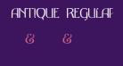 Antique Regular