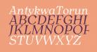 AntykwaTorunska-Italic