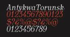 AntykwaTorunskaCondLight-Italic