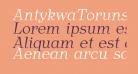 AntykwaTorunskaLight-Italic