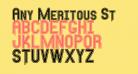 Any Meritous St