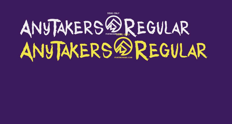 AnyTakers-Regular