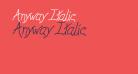 Anyway Italic