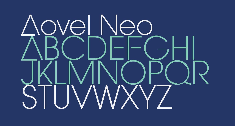 Aovel Neo