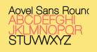 Aovel Sans Rounded