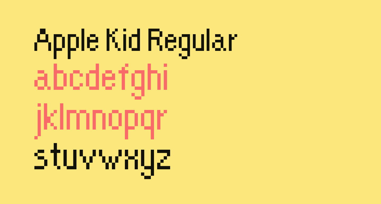 Apple Kid Regular