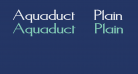 Aquaduct    Plain