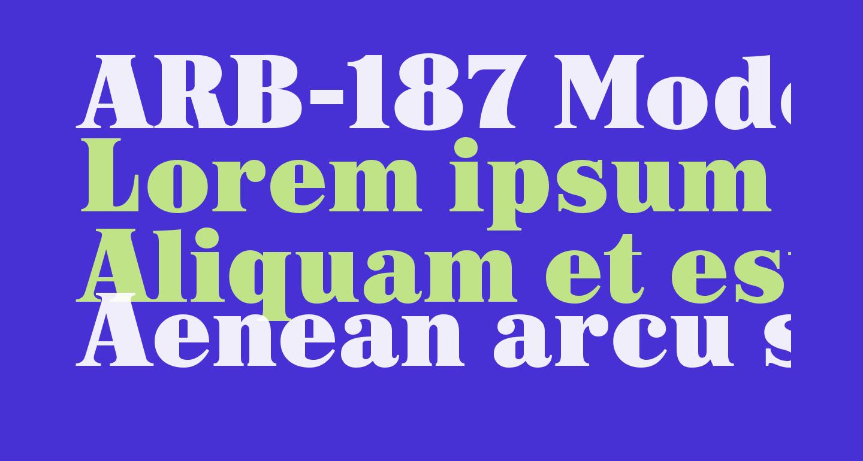 ARB-187 Moderne Caps AUG-47 CAS Normal