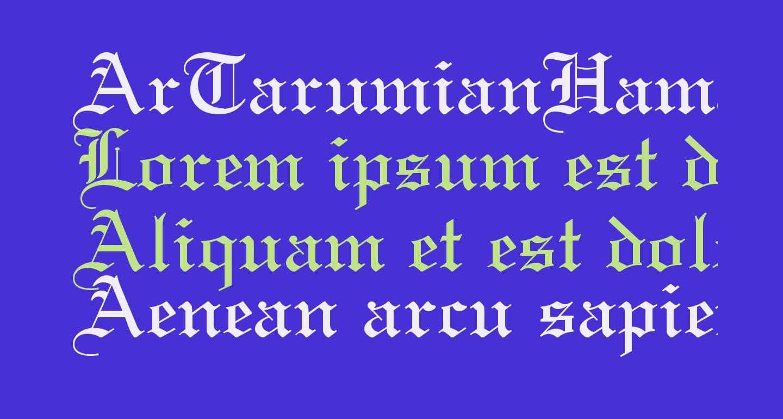 ArTarumianHamagumar
