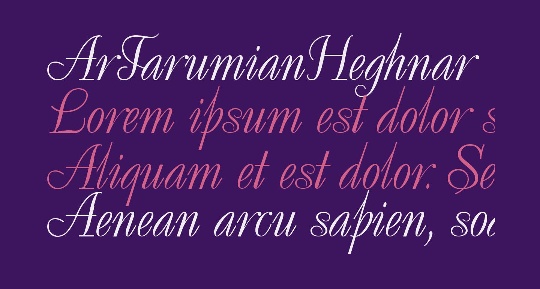 ArTarumianHeghnar
