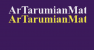 ArTarumianMatenagir  Bold