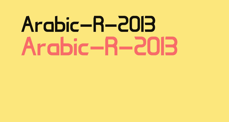 Arabic-R-2013