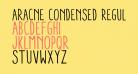 Aracne Condensed Regular