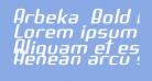Arbeka  Bold Italic